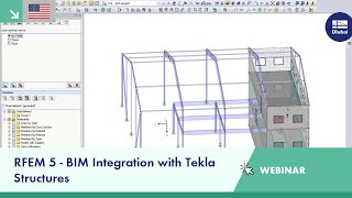Webinar: BIM Integration with Tekla Structures in RFEM 5 | Dlubal