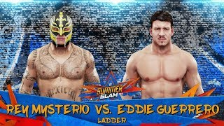 WWE 2K19 LADDER MATCH: Rey Mysterio vs. Eddie Guerrero at SummerSlam!