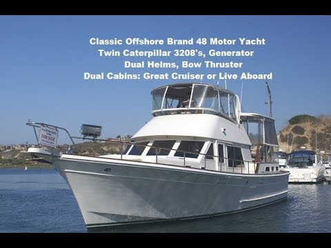 Offshore Yachts Motoryacht video