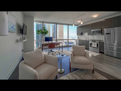 A Streeterville S3 office / amenity suite at the new, high-amenity 465 North Park