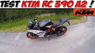 #MotoVlog 21 : TEST KTM RC 390 / A2 / J'aime pas..