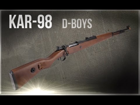 Kar 98 D-Boys (softair) Bolt action - legno e metallo