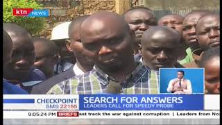 Search for answers after the killing of Kipchumba Murkomen's PA