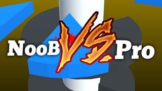 Helix Jump: NooB vs Pro