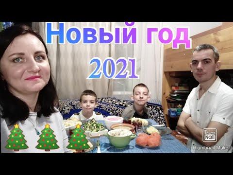 Как мы встречали Новый год 2021 / Новогодний влог / Anika Z