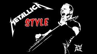 "Heavy Metal ""Metallica Style"" Guitar Backing Track (E) | 119 bpm"