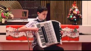 Vánoční koncert 21.12. 2010 - vystoupení Víta Jandáska