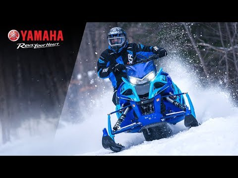 2020 Yamaha Sidewinder X-TX LE 146 in Tamworth, New Hampshire - Video 1