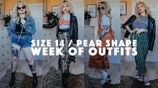 SIZE 14 / PEAR SHAPE OUTFIT IDEAS
