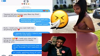 NBA Youngboy   Gangsta Fever LYRIC PRANK ON MY VALENTINE 😍🖤 (SHE MIGHT BE THE ONE)