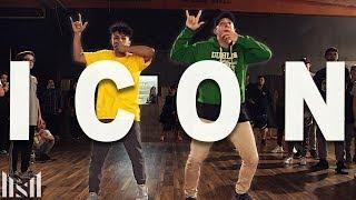 ICON - Jaden Smith Dance | Matt Steffanina ft Kenneth