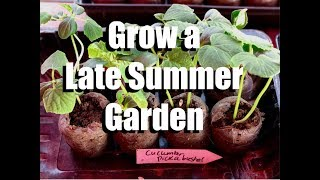 Growing a Late Summer Garden of Warm Weather Veggies // Why, How, and What I am Planting #1