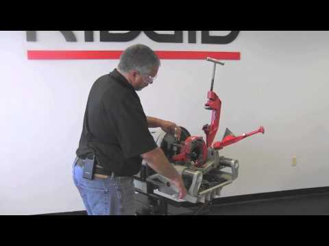 Model 1224 Threading Machine & Model 1224 Threading Machine | RIDGID