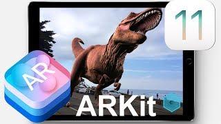 ARKit на что способна и умеет дополненная реальность iPhone и iPad с iOS 11 игры и приложения