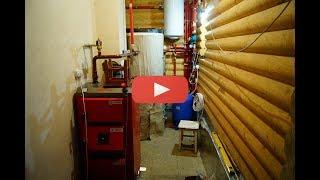 Твердотопливный котел Defro Optima Komfort 30 kw