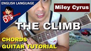 Guitar tutorial: THE CLIMB chords: Boyce Avenue (Miley Cyrus) Pareng Don Tutorials