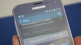 Samsung Galaxy S5 - Akku Check 100% bis 0% | Battery Check