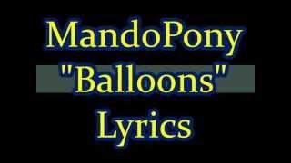 "MandoPony - ""Balloons (FNAF 3 Song)"" lyrics"