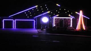 Happy - Flagstaff Christmas Light Show 2014