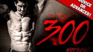 """HOME """"300"""" WORKOUT (Bodyweight Only!!)"""