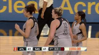 Appel Marinelli Sends Game to Overtime in San Antonio! by WNBA
