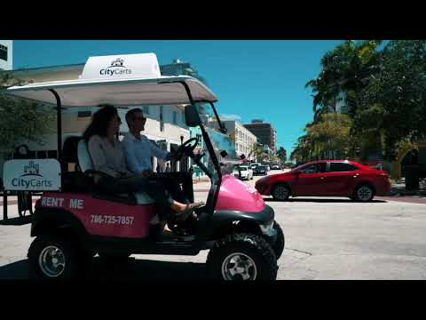 CityCarts A Better Way To Ride Around Miami Beach