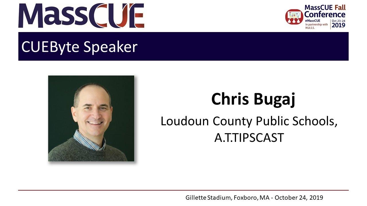2019 Fall Conference CUEByte Chris Bugaj