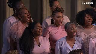 In full: Moving rendition of Ben E King's 'Stand By Me' at royal wedding | ITV News