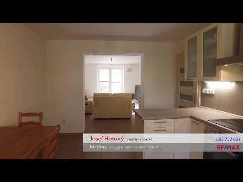 Video Prodej bytu 2+1 56 m², Kladno