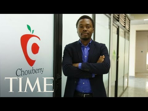 Oscar Ekponimo On Fighting Hunger With His Successful App | Next Generation Leaders | TIME