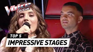 Most IMPRESSIVE STAGES in The Voice