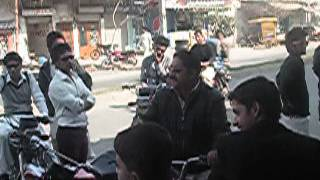 preview picture of video 'Motorbike Rally in Faisalabad at Eid Miladun Nabi SAWW Pt-4'