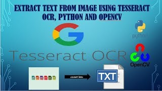 opencv ocr and text recognition with tesseract - TH-Clip
