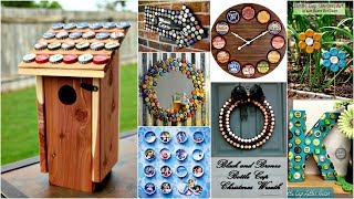 40 DIY Bottle Cap Craft Ideas With Instruction