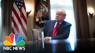 Watch: Trump Participates in Small Business Relief Update