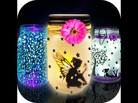 DIY Glow in the dark toys making | DIY glowing Fairy jar maker Game | DIY Life hacks