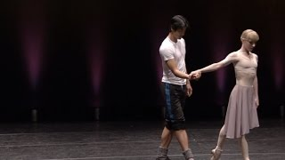 Romeo and Juliet rehearsal (The Royal Ballet)
