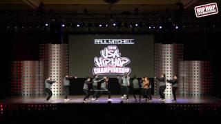 Jukebox Family - Gilbert, AZ (MegaCrew Division) @ #HHI2016 USA Prelims