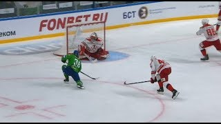 2019 Gagarin Cup, Avtomobilist 2 Salavat Yulaev 4, 20 March 2019 (Series 1-3)
