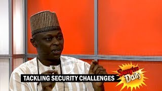 Tackling Security Challenges: What Have We Not Done Right? – Aliyu Umar