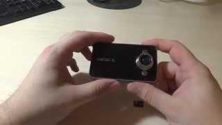 Обзор видео регистратора K6000 / Video review car DVR K6000