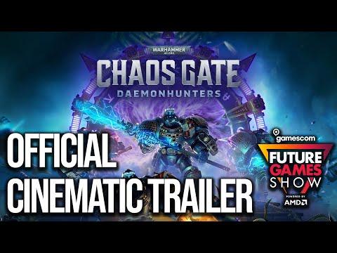 《戰鎚 40K:混沌之門 - 惡魔獵人》曝光動畫影片 預告 9 月揭開遊戲畫面