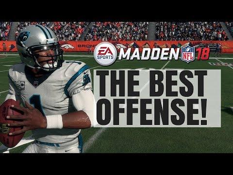 Best Offense In Madden 18 - Unstoppable Scheme