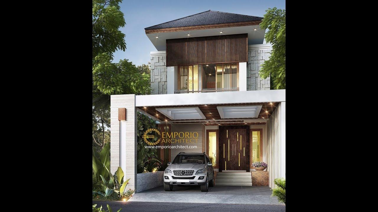 Video 3D Desain Rumah Villa Bali 2 Lantai Ibu Wulan di Jakarta