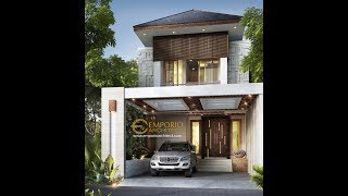 Video Desain Rumah Villa Bali 2 Lantai Ibu Wulan di  Jakarta
