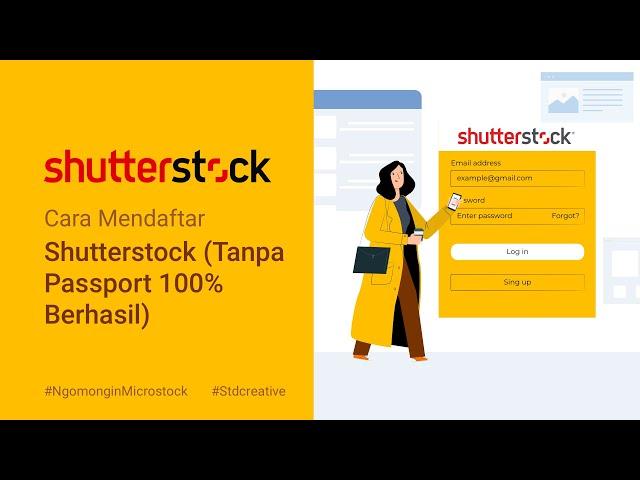 Cara Mendaftar Shutterstock Tanpa Passport 100 Berhasil