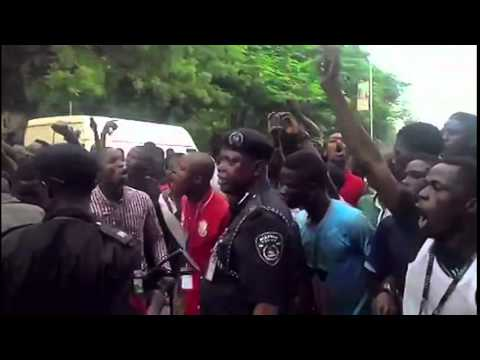 OOU STUDENT PROTEST