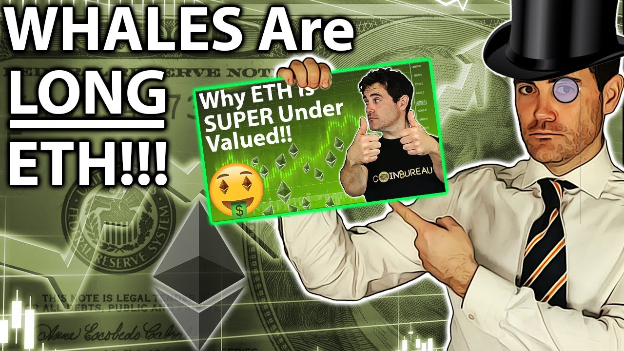 Whale ETH BUYING: Smart Money LONG ETHEREUM!! 🐋 #Ethereum #ETH