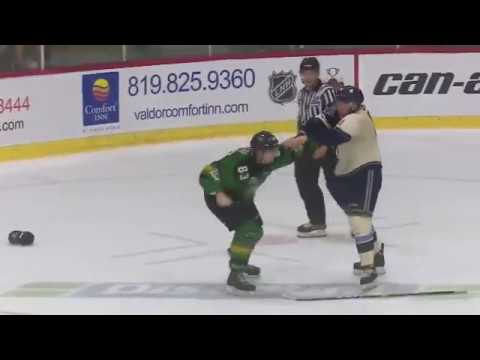 Mathieu Olivier vs Zachary Gladu