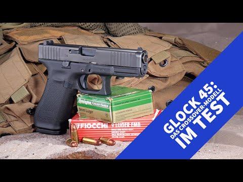 glock: GLOCK 45 in 9 mm Luger − die Crossover-Pistole zwischen GLOCK 17 und GLOCK 19 im Praxis-Test und Video